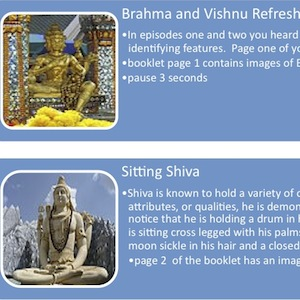 Identifying Hindu Gods » Episode 3 » Shiva: A Podcast Storyboard