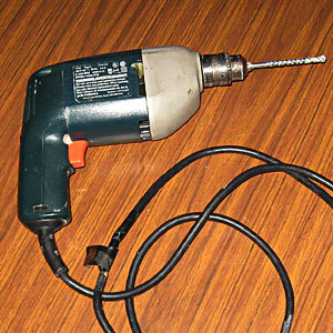 Corded Electric Drill #1