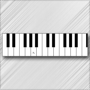 Grand Piano A - 3rd Octave