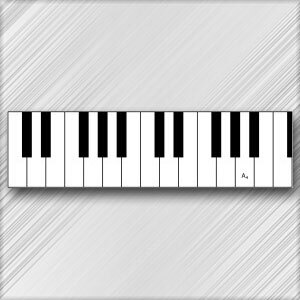 Grand Piano A - 4th Octave