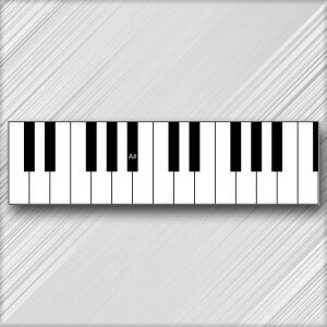 Grand Piano A# (B Flat) - 3rd Octave