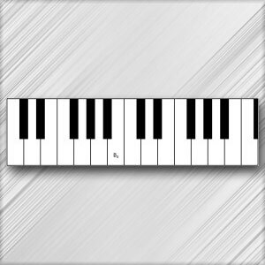 Grand Piano B - 3rd Octave