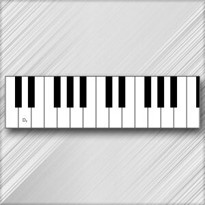 Grand Piano D - 3rd Octave