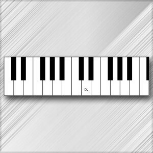 Grand Piano D  - 4th Octave