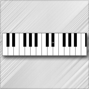 Grand Piano D# (E Flat) - 4th Octave