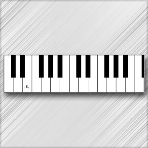 Grand Piano E - 3rd Octave