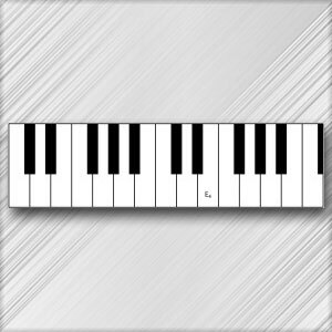 Grand Piano E - 4th Octave