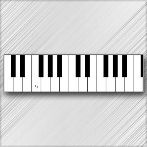 Grand Piano F - 3rd Octave