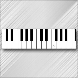 Grand Piano F - 4th Octave