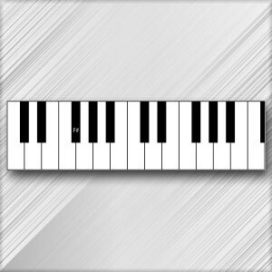 Grand Piano F# (G Flat) - 3rd Octave