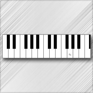 Grand Piano G - 4th Octave