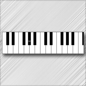 Grand Piano G# (A Flat) - 3rd Octave