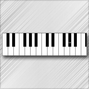 Grand Piano G# (A Flat) - 4th Octave