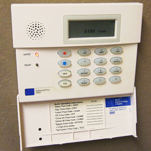 Home Alarm Panel System On