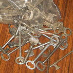 Rustling Bag of Old Keys #3