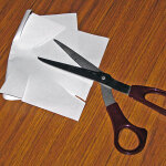 Scissors Cutting Paper #1