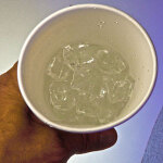 Shaking Ice in Paper Cup #1