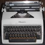 Typing on a Typewriter #1