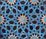 12th-13th Century Tile Mosaic Panel