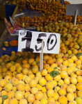 150 Turkish Liras for 1 Kilogram of Peaches