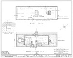 1934 Survey of Fort Matanzas, Second Floor Plan, No. 15-5, US Department of  the Interior, Office of National Parks,   Sheet 3 of 12.