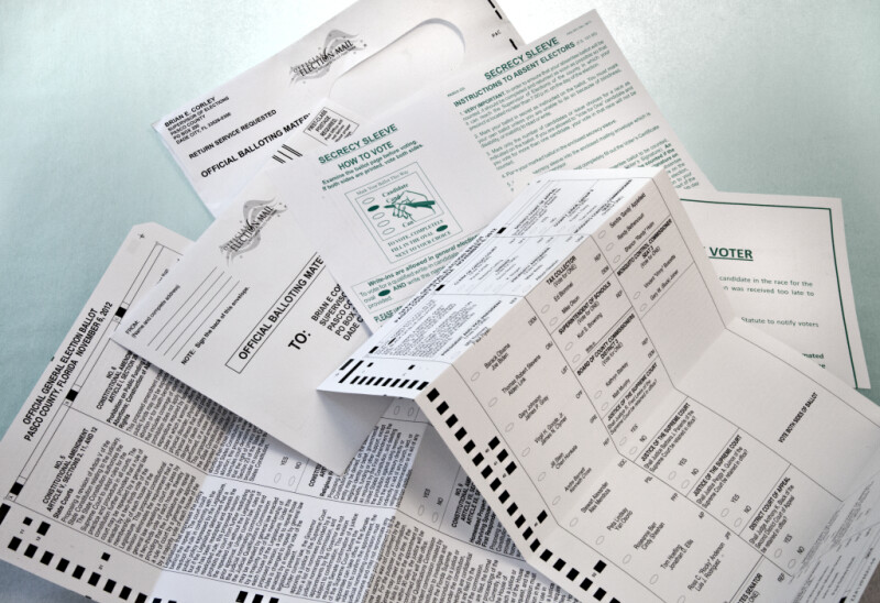 2012 General Election Mail-In Ballot Materials