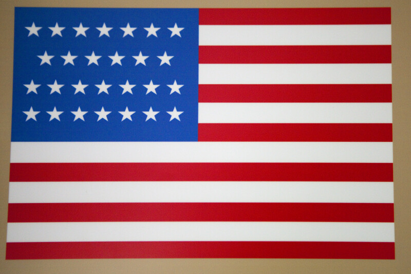 27-Star Flag