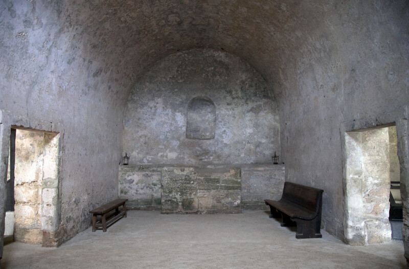 A Barrel Vault with Two Doorways