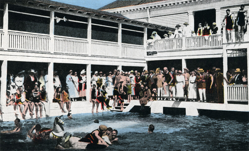 A Bathing Pool at the Casino