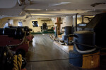 A Below Decks Section of the USS Constitution