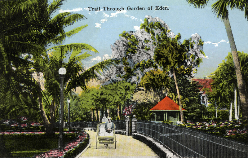 A Bicycle Chair Tour of the Garden of Eden