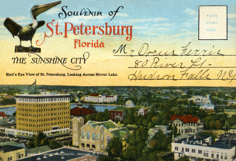 A Birds' Eye View of St. Petersburg