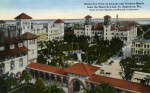 A Birds' Eye View of the Alcazar, Ponce de Leon, and Cordova Hotels