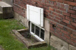 A Brick Water Table, and a Basement Window
