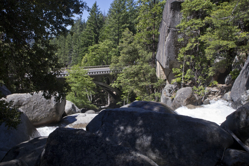 A Bridge over Cascade Creek