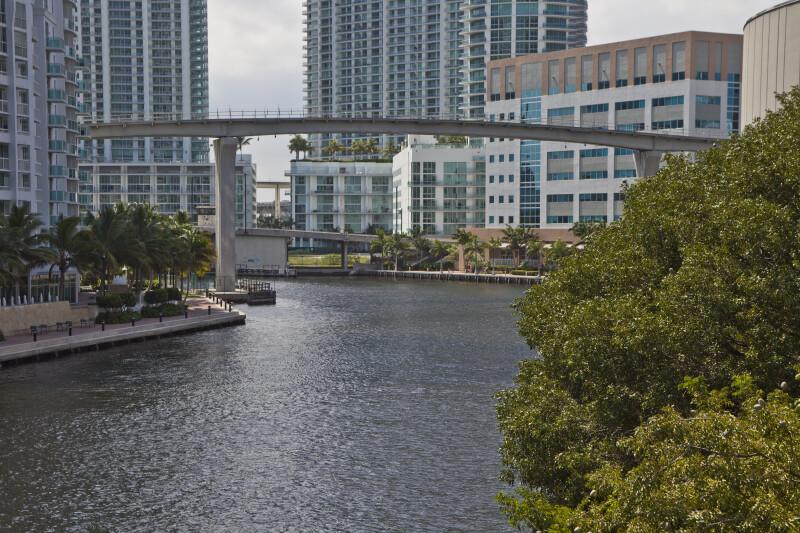 A Bridge over the Miami River