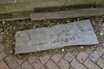 A Broken Grave Marker