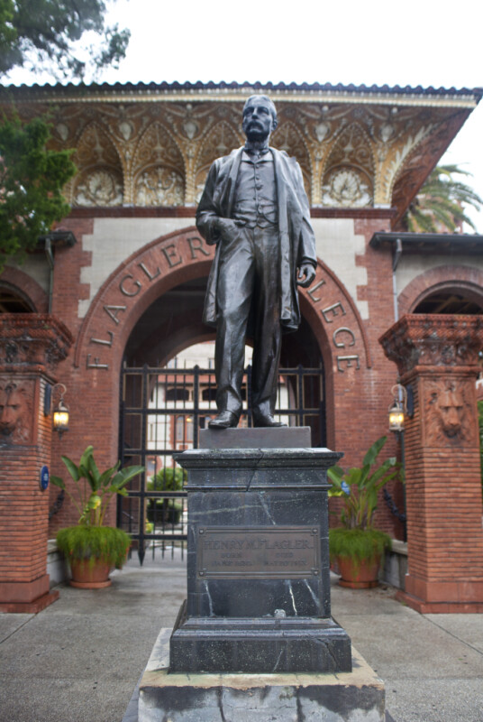 A Bronze Statue of Henry M. Flagler