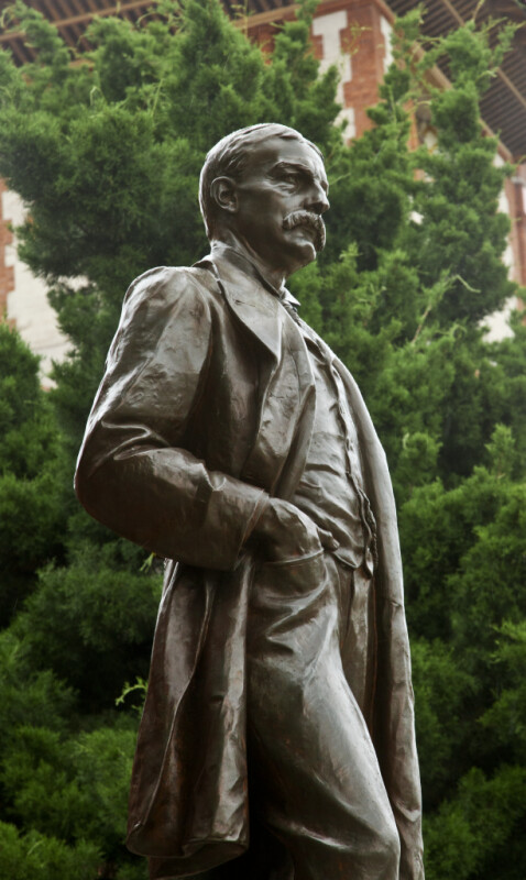 A Bronze Statue of Henry Morrison Flagler