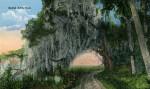 A Bucolic Scene Depicting the Royal Arch Oak