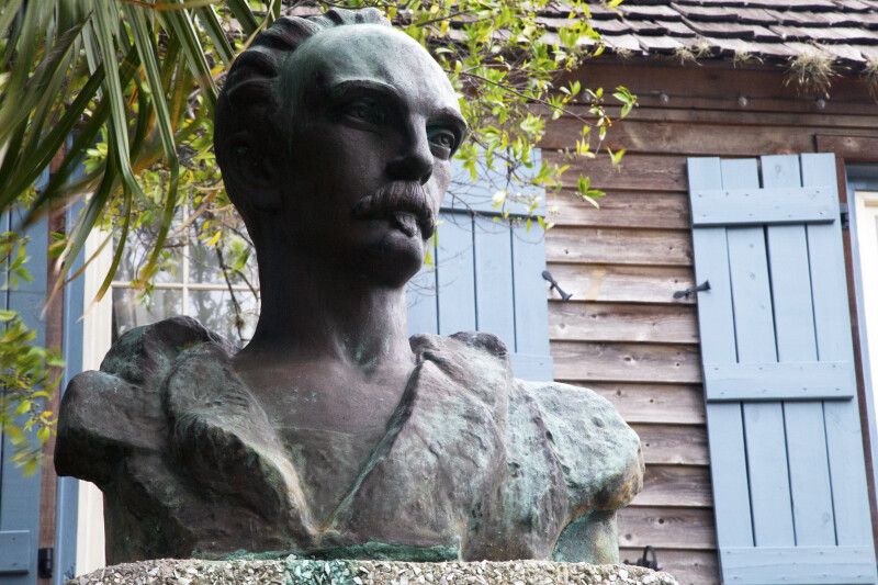A Bust of Jose Marti