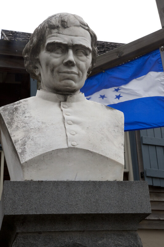 A Bust of Jose Trinidad Reyes