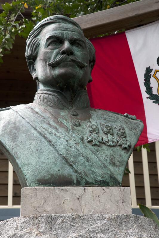 A Bust of Ramon Castilla