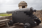 A Cannon at Fort Matanzas