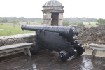 A Cannon near the Sentry Box