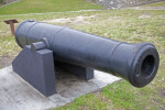 A Cannon on a Cannon Carriage
