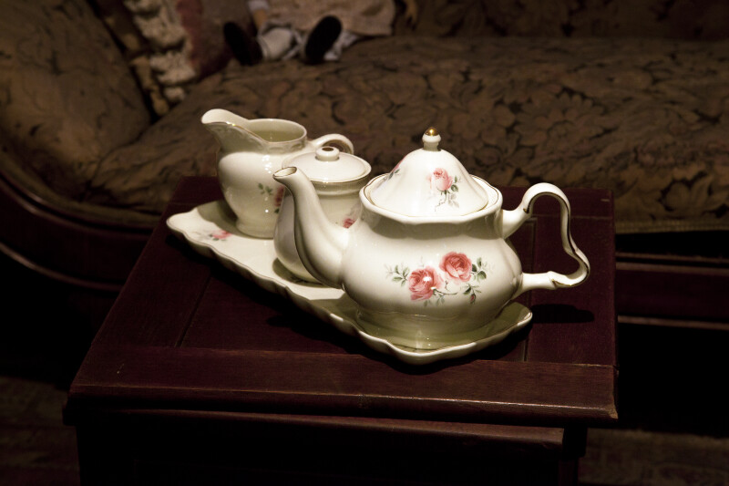 A Ceramic Tea Set