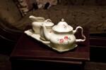 A Ceramic Tea Set