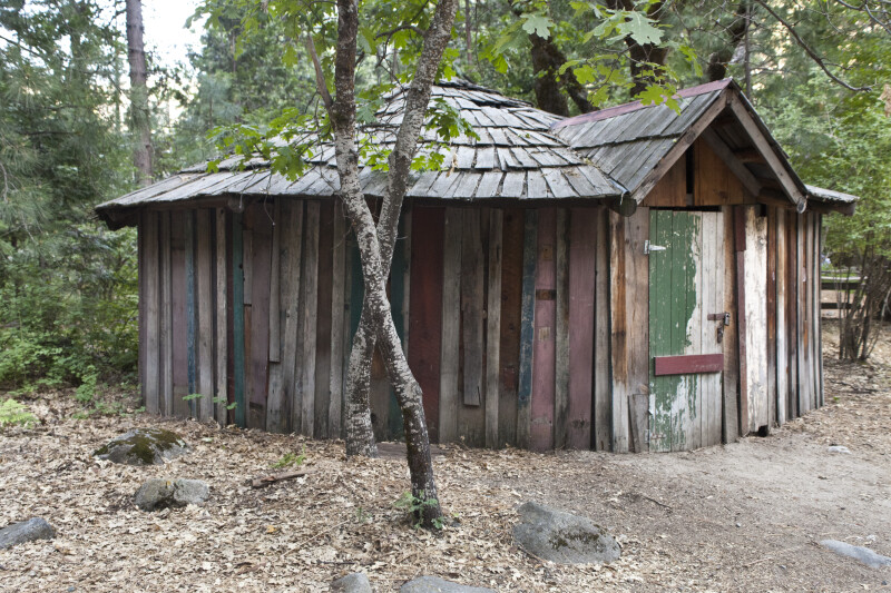 A Chief's House in Ahwahnee Village