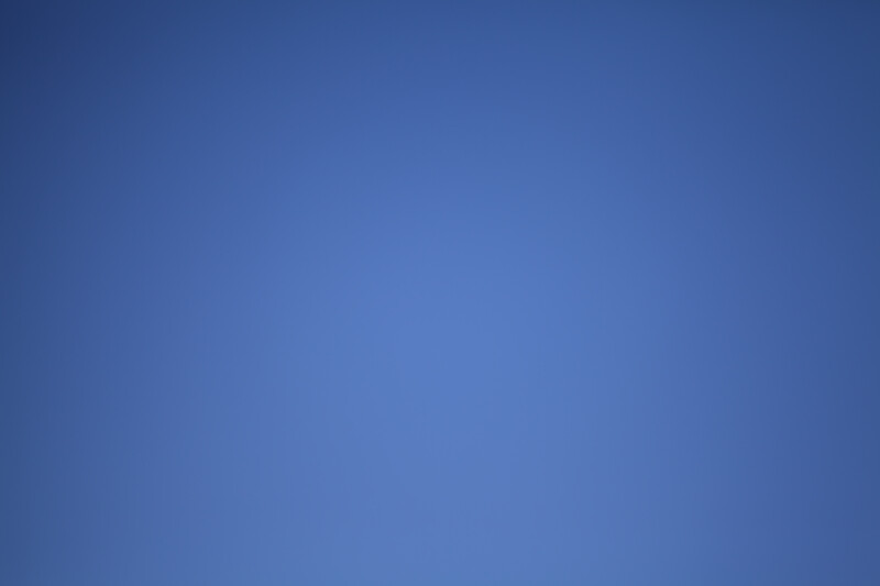 A Clear, Blue Sky above Memphis, Tennessee